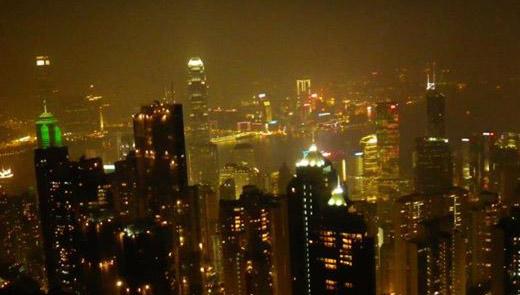 La vecchia e ricca Hong Kong