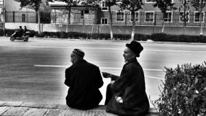 Vita quotidiana di una famiglia uigura
